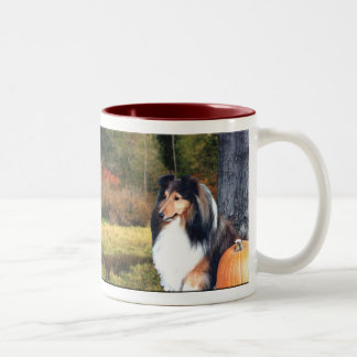 Autumn Sheltie Mug
