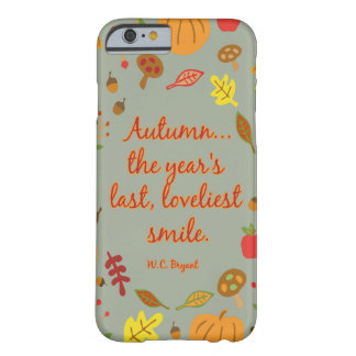 Autumn Smile Barely There iPhone 6 Case