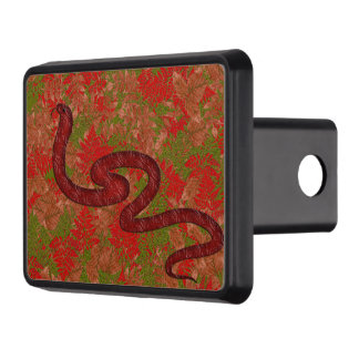 Autumn snake hitch covers