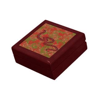 Autumn snake keepsake box