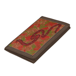 Autumn snake trifold wallet