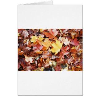 Autumn soul card