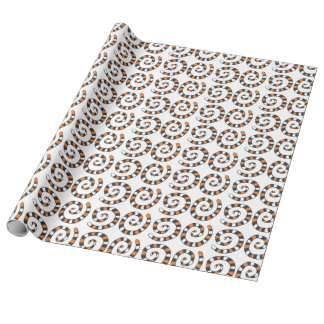 Autumn Spiral Wrapping Paper