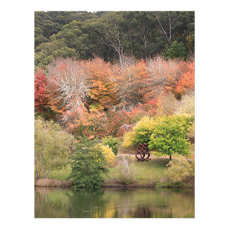 Autumn splendour, Adelaide Hills 2 Customized Letterhead