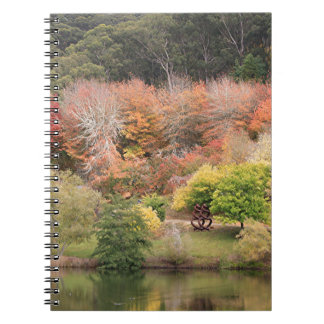 Autumn splendour, Adelaide Hills 2 Spiral Notebook