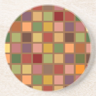 Autumn Squared Coaster