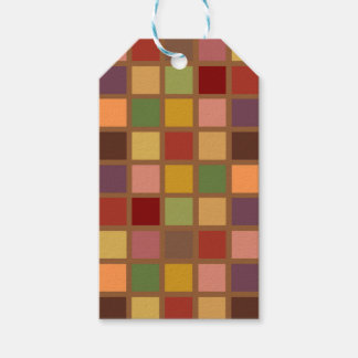 Autumn Squared Gift Tags