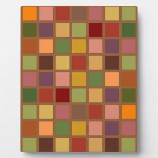Autumn Squared Plaque