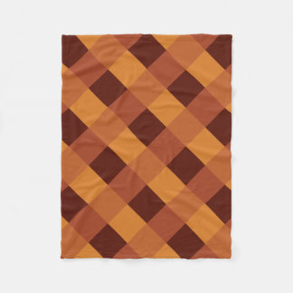 AUTUMN SQUARES-1 FLEECE BLANKET