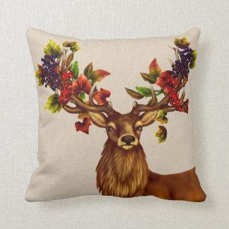 Autumn Stag Pillow