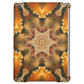 Autumn Stars Mandala iPad Air Covers