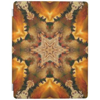 Autumn Stars Mandala iPad Cover
