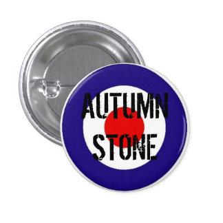 Autumn Stone Mod Target Badge 1 Inch Round Button