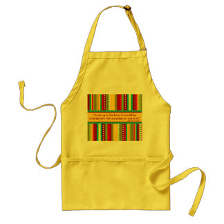 Autumn Stripes Apron