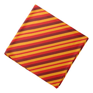 autumn stripes bandana