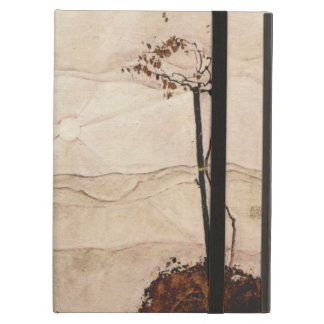 Autumn Sun and Trees by Egon Schiele iPad Air Cases