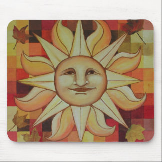 Autumn Sun Mouse Pad