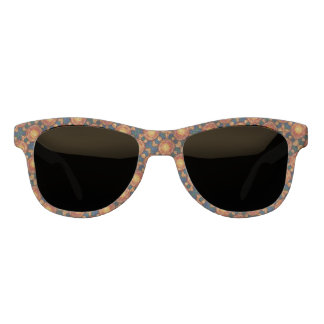 Autumn Sunburst Pattern Sunglasses