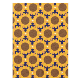 Autumn Sunflower Pattern Tablecloth