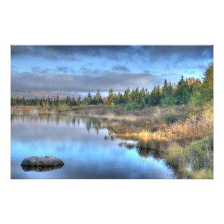 Autumn Sunrise at Moosehead Lake Maine Art Photo