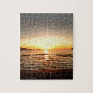 Autumn Sunset Puzzle