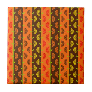 Autumn Theme Patterns Ceramic Tile