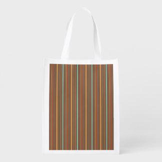 Autumn Theme Patterns Grocery Bag