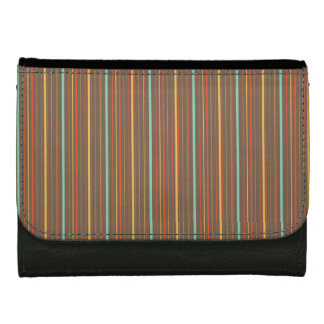 Autumn Theme Patterns Women's Wallet