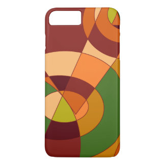 Autumn Themed Abstract Designs iPhone 7 Plus Case