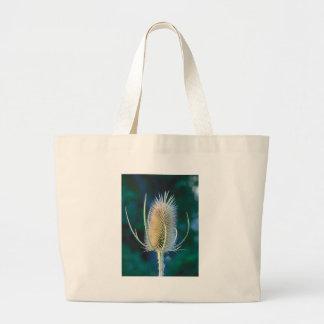 Autumn Thistle Large Tote Bag