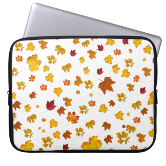 autumn time laptop sleeve