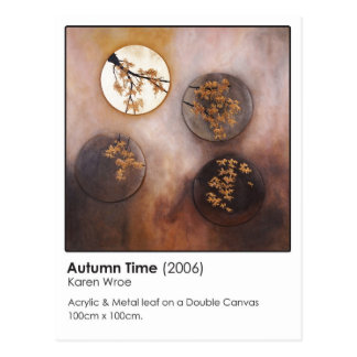 Autumn Time Postcard