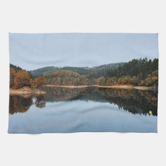 Autumn to the Aggertalsperre Kitchen Towel