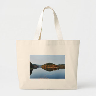 Autumn to the Aggertalsperre Large Tote Bag