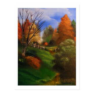 Autumn Trail Postcard