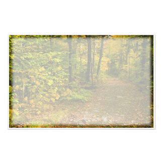 Autumn Trail stationary Stationery