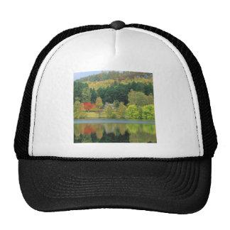 Autumn Tranquil Waters Loch Of Eileen Scotland Trucker Hat