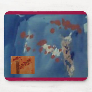 autumn tree 2, autumn tree by boo mouse pad