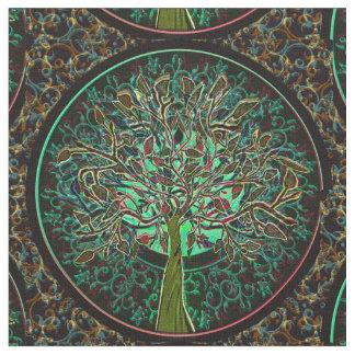 Autumn Tree Fabric