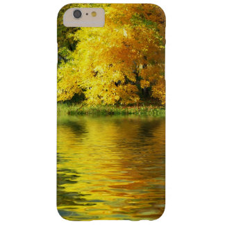 Autumn tree in the forest with reflection barely there iPhone 6 plus case