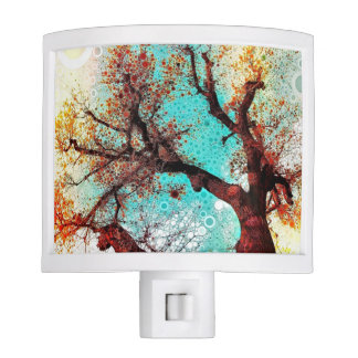 Autumn Tree Night Light