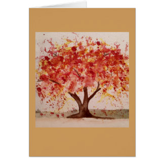 Autumn Tree Note Cards