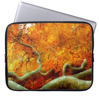 Autumn - Tree - Serpentine Laptop Computer Sleeve
