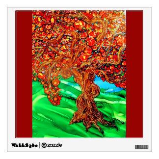 autumn tree wall decal
