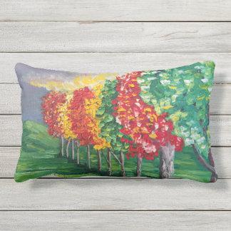 """Autumn Trees 2"" Outdoor Pillow"