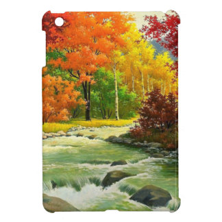 Autumn Trees By The River iPad Mini Case