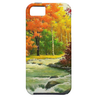 Autumn Trees By The River iPhone 5 Case