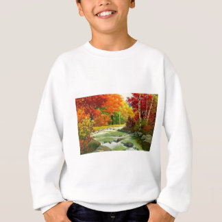 Autumn Trees By The River Sweatshirt