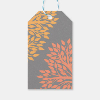Autumn trees gift tags