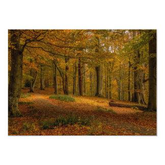 Autumn Trees Invitation